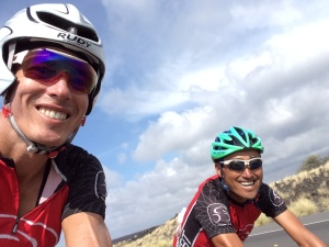 Returning from Hawi along the Queen K with Keish