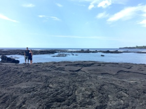 me and Michelle on the Big Island of Hawaii